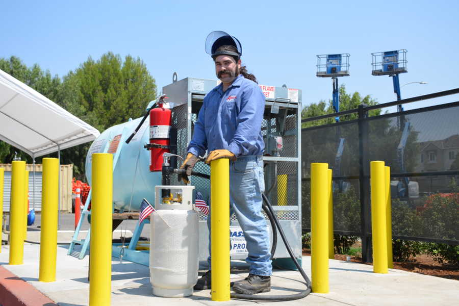 Propane Tank Refill Service A Tool Shed Equipment Rentals in San Jose CA