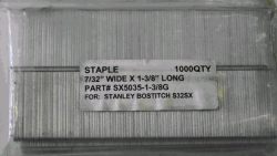 Rental store for BOSTITCH 1-3 8  SX5035 STAPLES 1000 BOX in San Jose CA