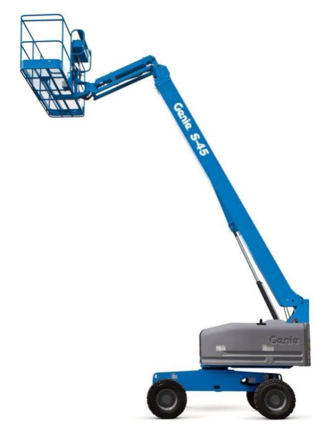 Where to find 45  GENIE S45 PERSONNEL BOOM LIFT in San Jose