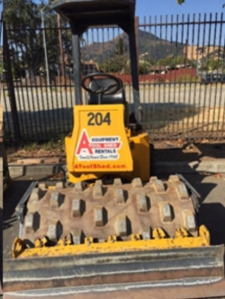 Rental store for 48  VIBRATORY SHEEPSFOOT ROLLER in San Jose CA