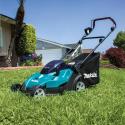 Rental store for 17  MAKITA CORDLESS LAWN MOWER in San Jose CA
