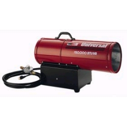 Rental store for 150,000 BTU FORCED AIR PROPANE HEATER in San Jose CA