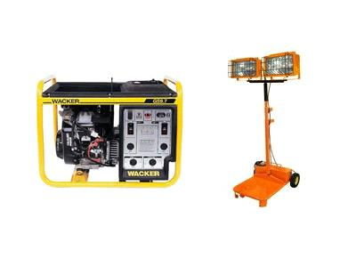 Rent Generator - Lighting & Electrical Accessory