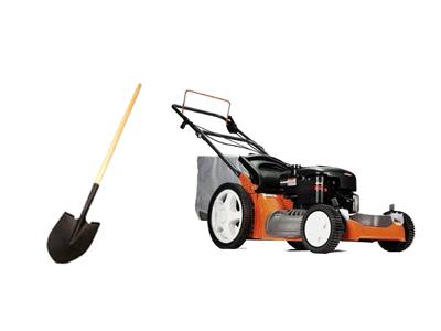Rent Lawn & Garden - Mower- Tiller & Branch Chipper