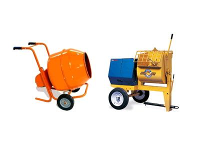 Rent Concrete Mixers & Tools