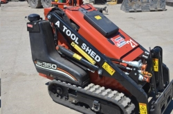 Rental store for 35  GAS MINI TRACK SKID STEER LOADER in San Jose CA