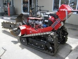 Rental store for WALK BEHIND TRACK TRENCHER, 36  DEPTH in San Jose CA