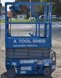 Rental store for 13  GENIE GS-1330 ELECTRIC SCISSOR LIFT in San Jose CA