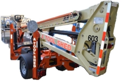 Rental store for 35  TOWABLE PERSONNEL BOOM LIFT JLG in San Jose CA