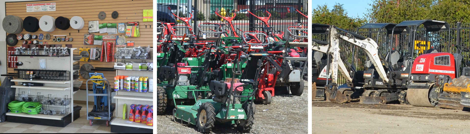 Equipment Rentals in Santa Clara County & the Silicon Valley